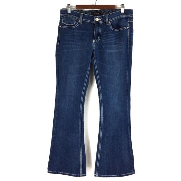 Seven7 Denim - T162 Seven7 Flare Jeans Size 10